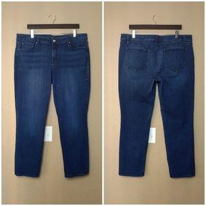 Ann Taylor Modern Straight Denim Jeans